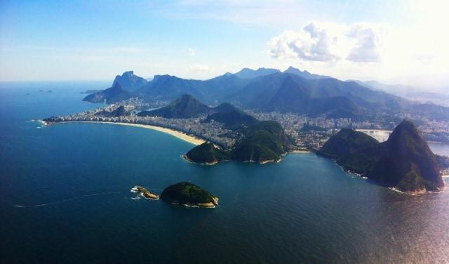Plane views: Rio de Janeiro