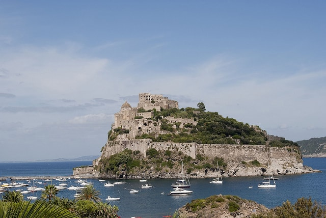 Castello Aragonese (image courtesy of Phlegrean)
