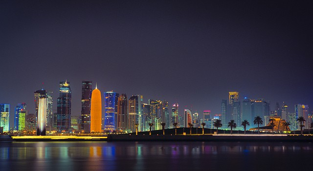 A luxury getaway in Doha