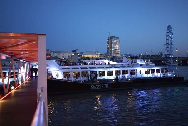 Silver Sturgeon Thames Dining Cruise (image: © Silver Fleet)