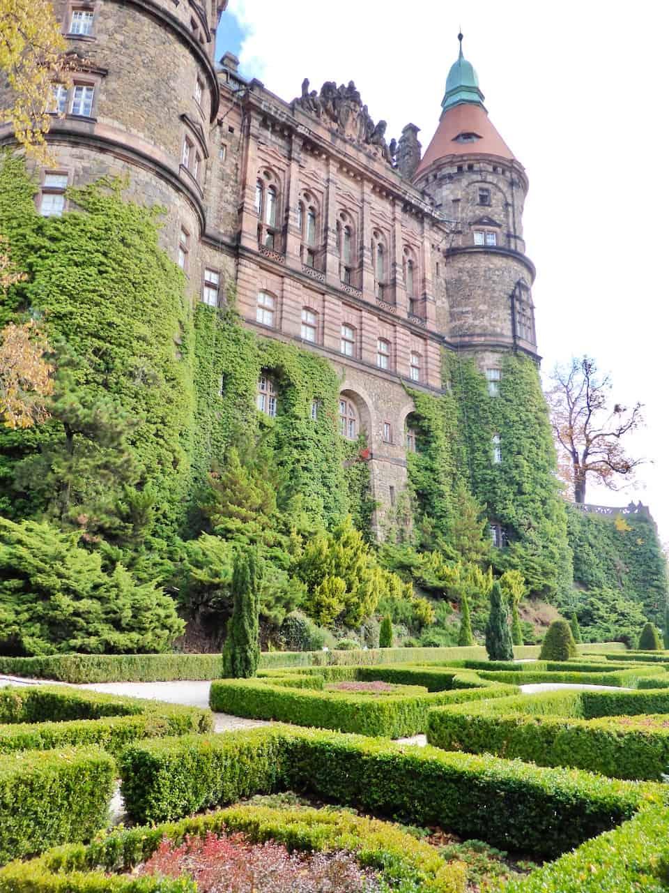 ksiaz-castle-gardens-photo