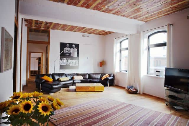 Another of Stephan's gorgeous lofts in Moabit.
