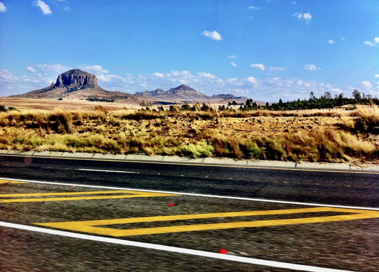 free state road trip south africa photo