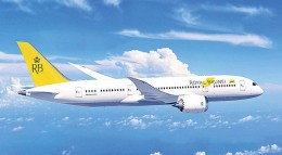 Royal Brunei Dreamliner 787.