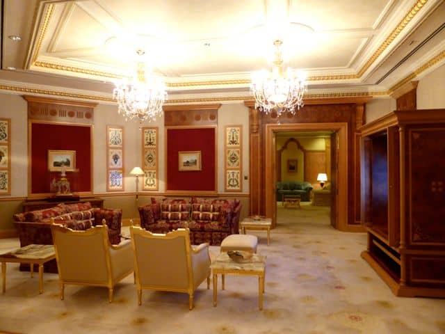 Inside The Emperor Suite At The Empire Hotel Brunei