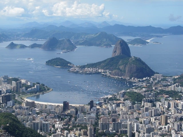Velvet moments: travel photo – panoramic views of Rio de Janeiro