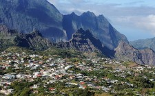 The village of Cilaos on Réunion (image courtesy of  Philippe Vieux-Jeanton).