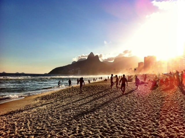 sunset-ipanema-beach-rio-photo