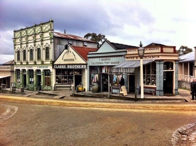 street-sovereign-hill-ballarat-photo