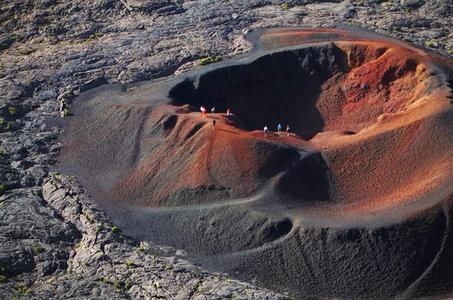Piton de la Fournaise (image courtesy of Réunion Tourism).