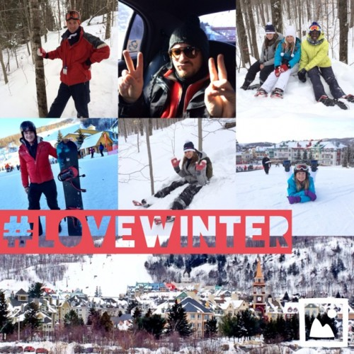 The #LoveWinter crew!