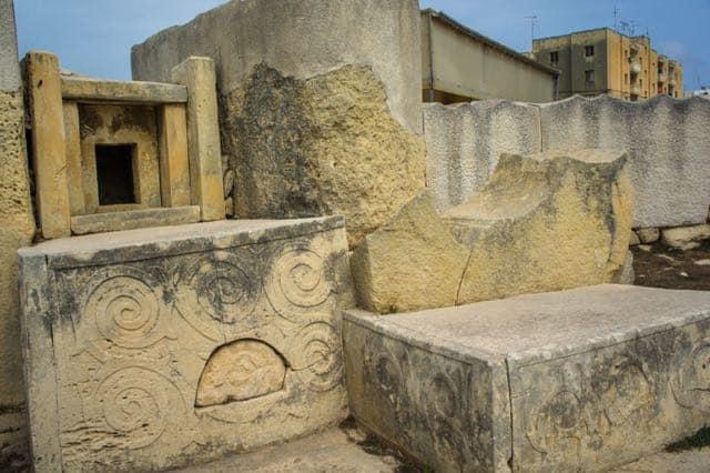 Tarxien temples malta photo