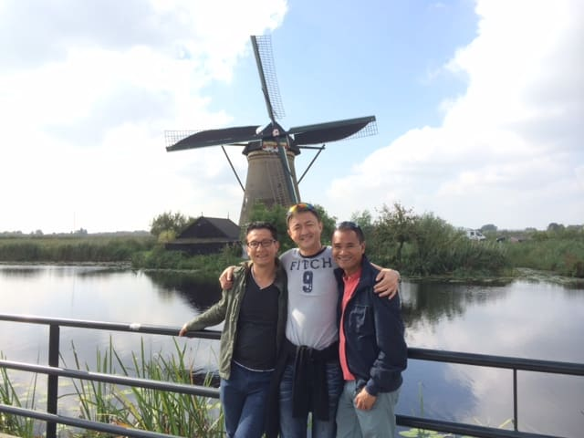 It was the best birthday ever! My two best friends visited me in Amsterdam to celebrate my birthday and we had the best time! Love you guys!
