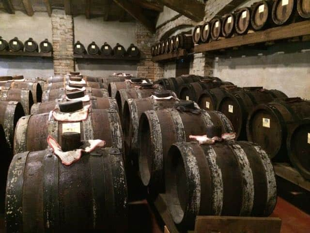 Barrels of 'black gold'!