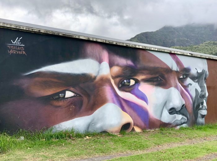 Street art in Reunion Island