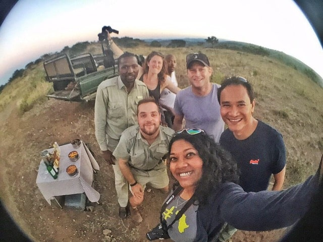 The fun group I went on safari with! Image courtesy of @mzansigirl.