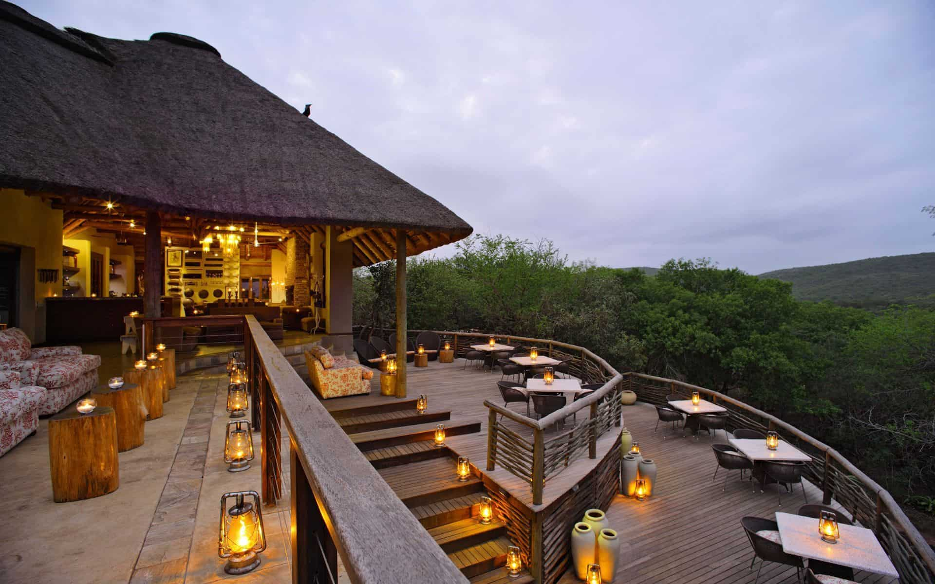 Phinda Mountain Lodge (image courtesy of Phinda Private Game Reserve).