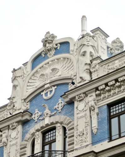 art nouveau architecture in riga velvet escape
