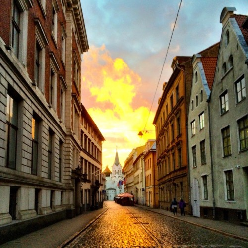 riga-sunset-photo