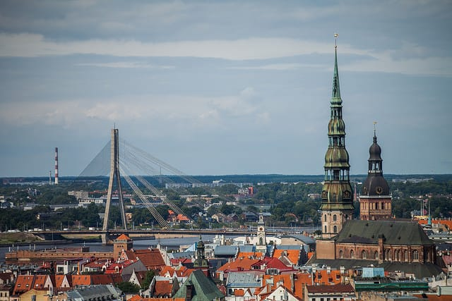 Riga-old-town-panorama-photo