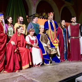 medieval festival spain photo