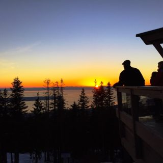 grouse-mountain-sunset-view-photo