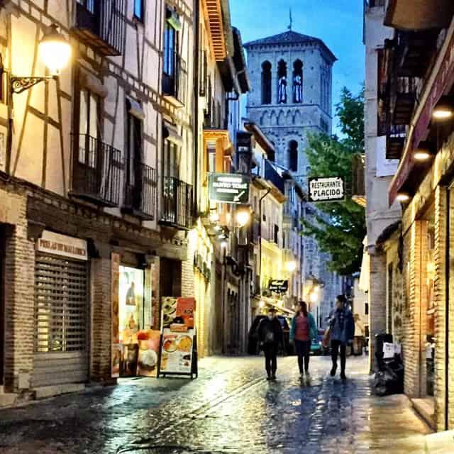 toledo-street-evening-photo