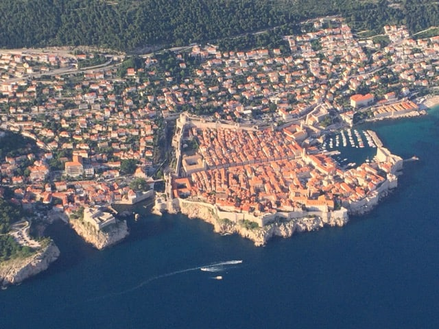 Plane views: Dubrovnik