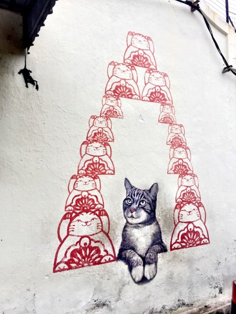 cats-street-art-penang-photo