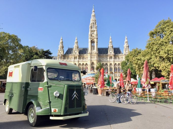 Exploring Vienna in a day on foot