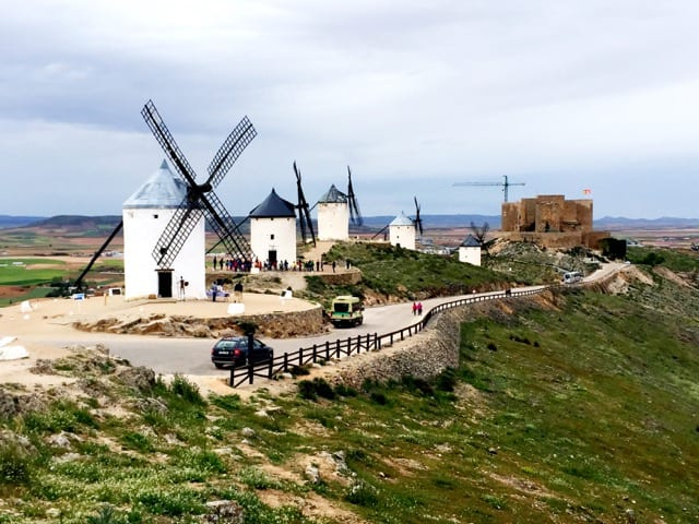 consuegra windmills photo