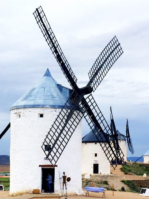 The historic windmills of Consuegra.