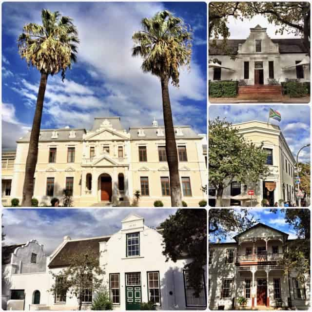 Stellenbosch architecture photo