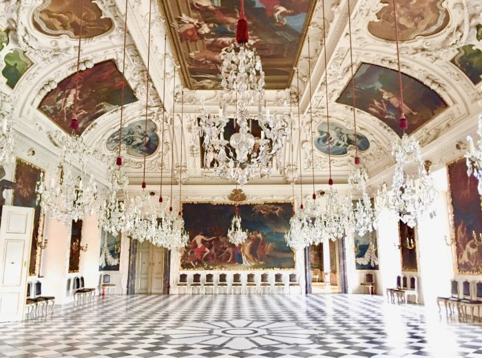The treasures of Eggenberg Palace