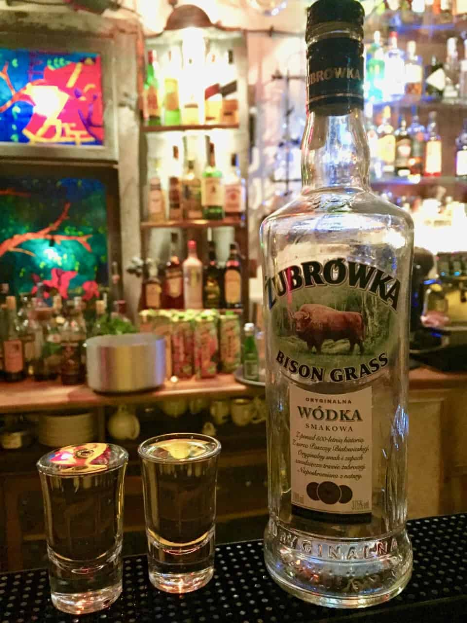 zubrowka-bison-grass-vodka photo