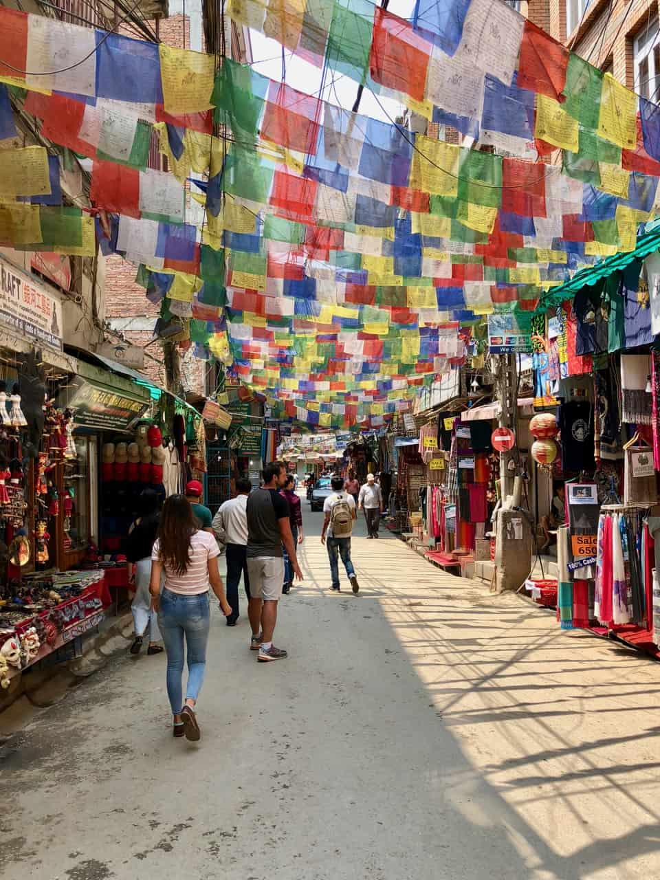 prayer-flags-kathmandu-street-photo