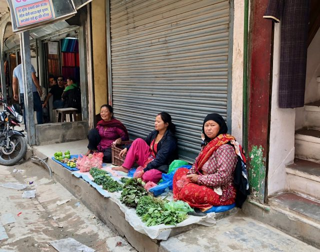 vegetable-sellers-kathmandu-photo
