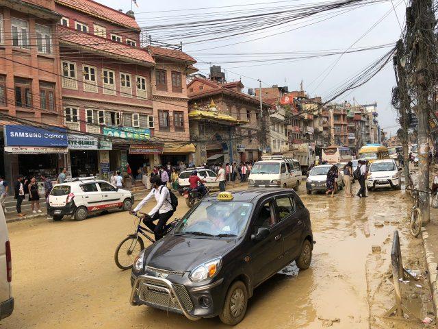 muddy-road-kathmandu-photo