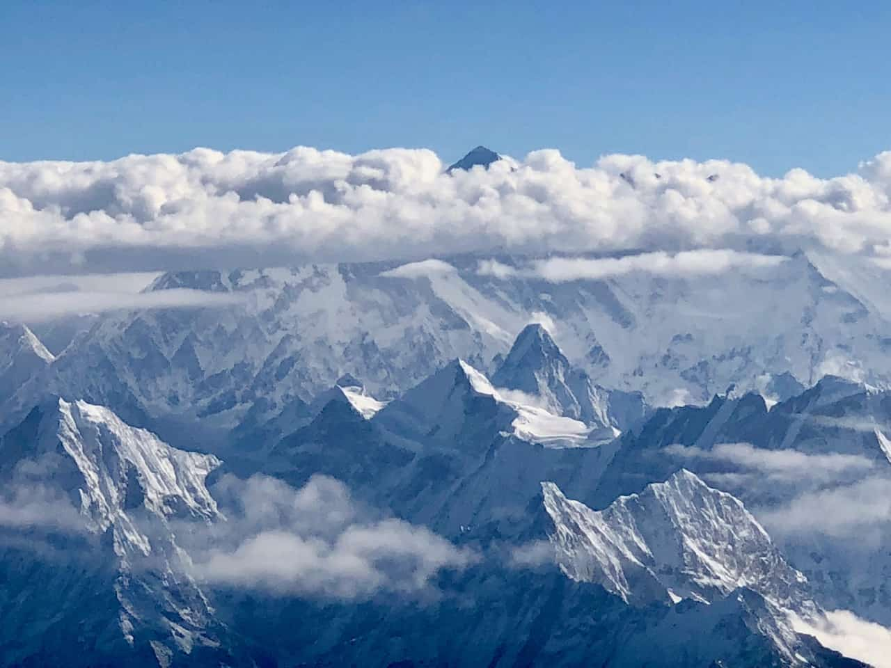 Seeing Mount Everest