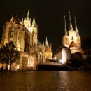 An evening stroll in medieval Erfurt