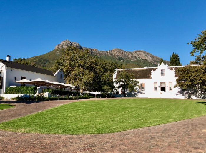 A weekend of indulgence at Lanzerac Wine Estate