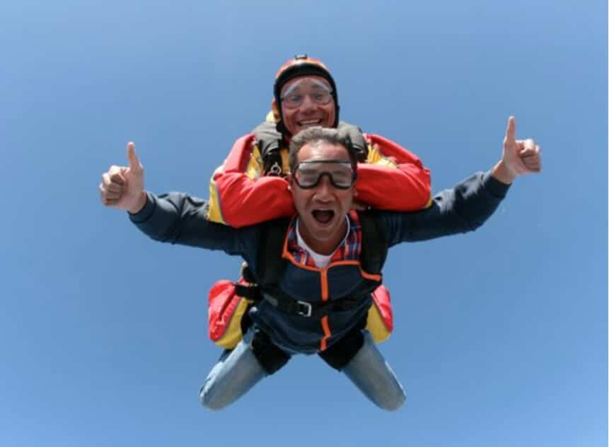 My first skydive!