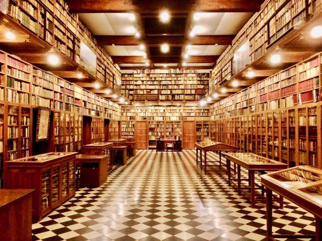 peralada-castle-library-photo