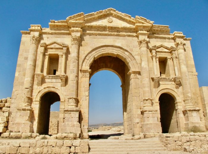 The ancient treasures of Jerash