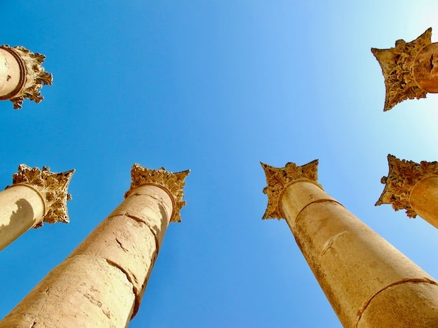 things to see in jerash jordan