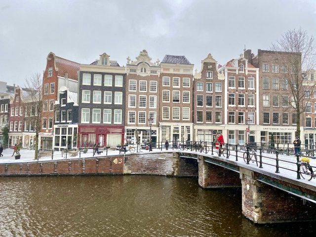 Amsterdam Jordaan winter