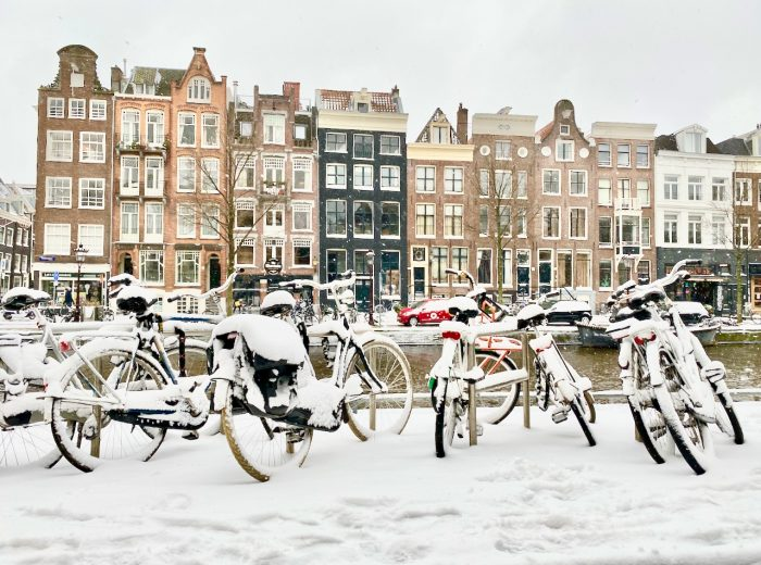 Winter fun in Amsterdam
